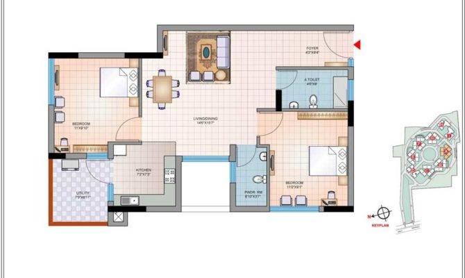 Bhk House Plans Home Design Style