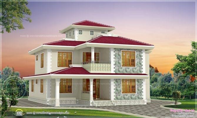 Bhk Kerala Style Home Design Plans