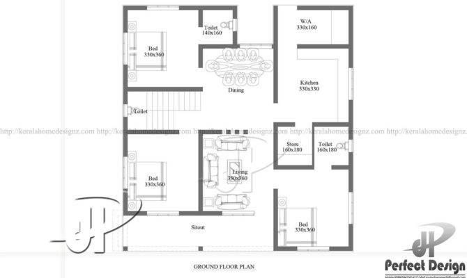 Bhk Kerala Style Home Designs Design