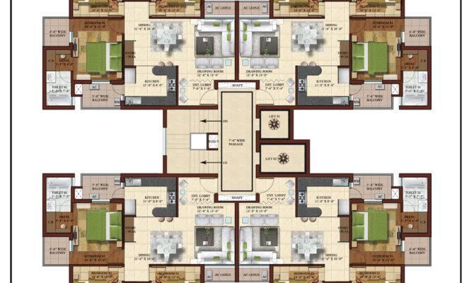 Bhk Luxury Flats Apartments Motia Oasis Patiala