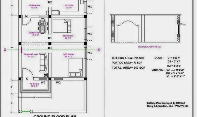Bhk Single Floor House Plan Latest Home Designs