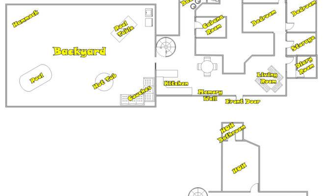 Big Brother House Floor Plans Frompo