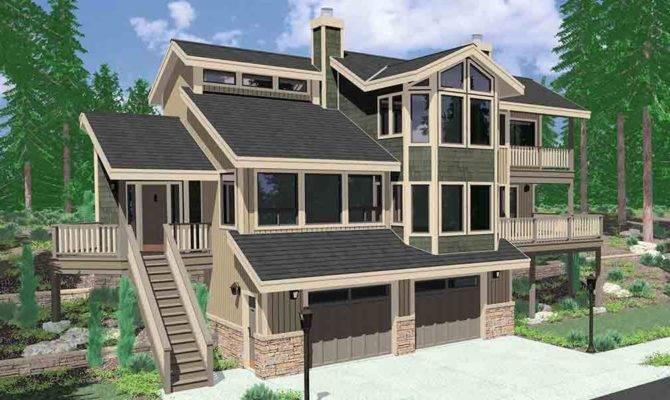 Big Daylight Basement Ranch House Plans Multigenerational