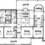 Big Porches Floor Master Suite Corner Lot