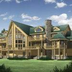 Big Sky Log Home Plan Floor Plans Homes
