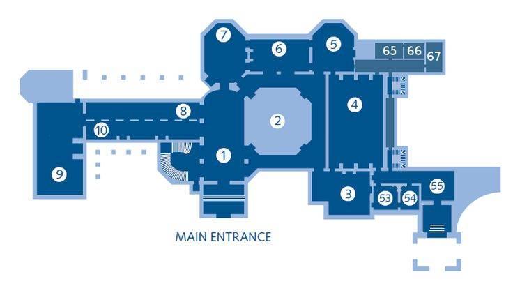 Biltmoreground Level Entrance Hall Music Room