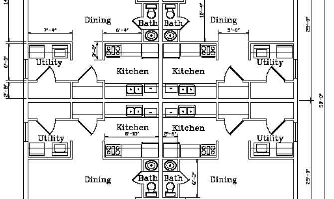 Biulding Plans Four Plex