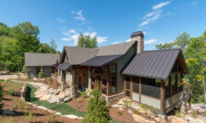 Black Mountain Rustic Modern Farmhouse Acm Design