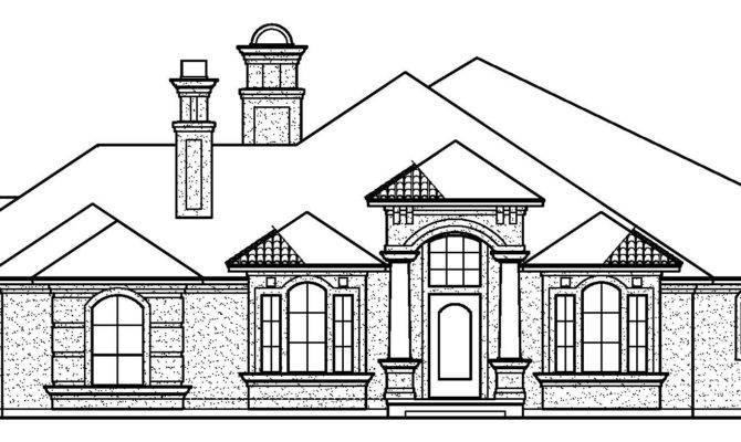 Black Rock House Plans Estate Home Archival Designs