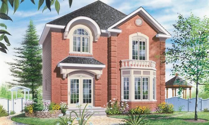 Blissfield Farm Narrow Lot Home Plan House Plans More