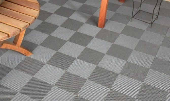 Blocktile Deck Patio Flooring Interlocking Perforated