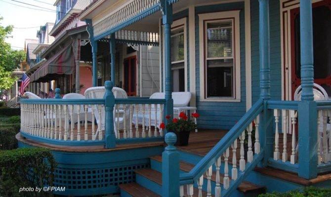 Blue Front Porch Extension