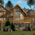 Blue Ridge Log Home Floor Plan Caribou Creek Timber