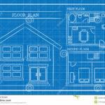 Blueprint House Plan Architecture Vector