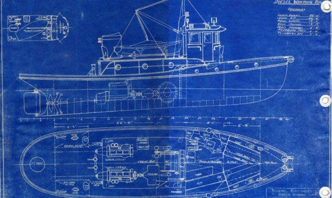 Blueprint Pinterest Tug Boats Space Station