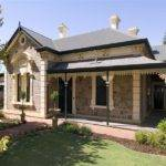 Bluestone Colonial House Exterior Verandah Landscaped Garden