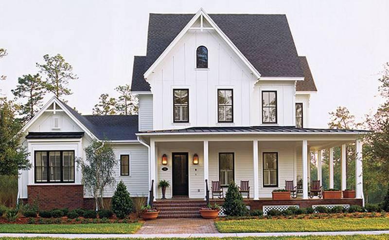 Board Batten House Designs Design Planning Houses