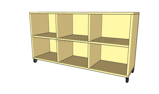 Bookcase Plans Howtospecialist Build Step Diy
