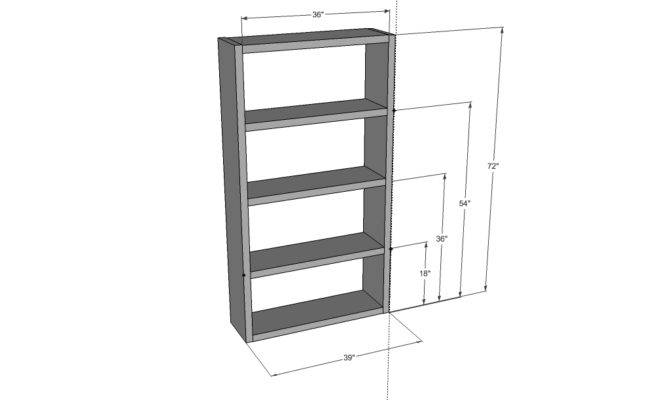 Bookcase Woodworking Plans Woodshop