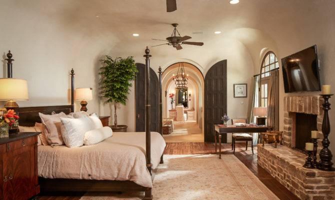 Bordley Mediterranean Bedroom Houston Thompson