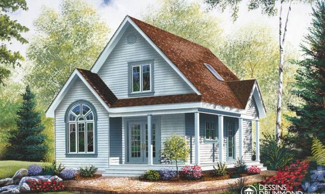 Bordure Lac Chalet Champ Tre Maison Laprise Maisons