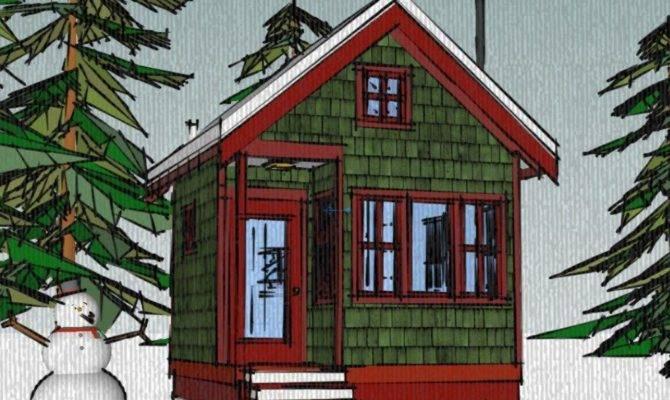 Borealis Writer Cabin Tiny House Plans