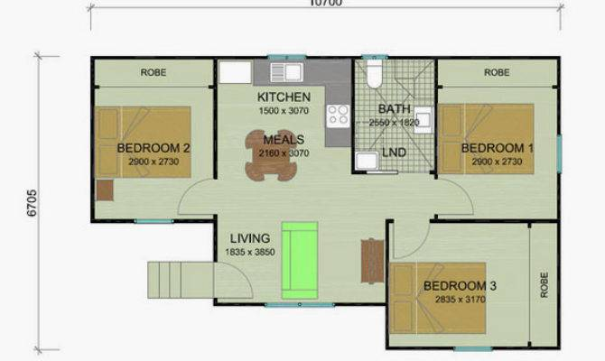 Bottlebrush Granny Flat Plans Bedroom