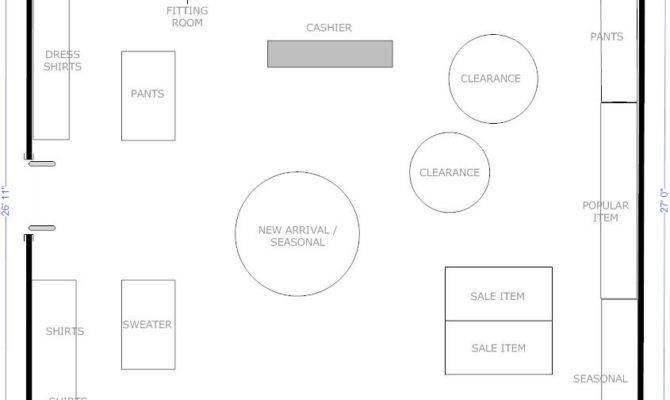 Boutique Flow Store Layout Floor Plans Pinterest