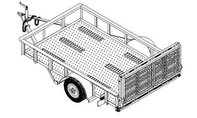 Box Utility Trailer Specifications Autos Post