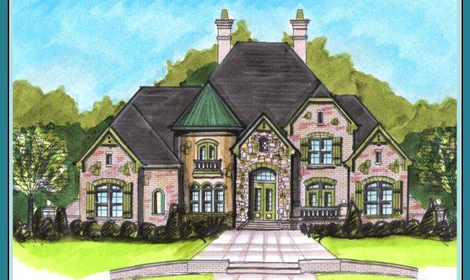 Boyehomeplans French Country Style Plan Search