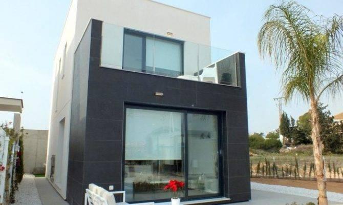 Brand New Bed Bath Detached Villas Sale Punta Prima Spain