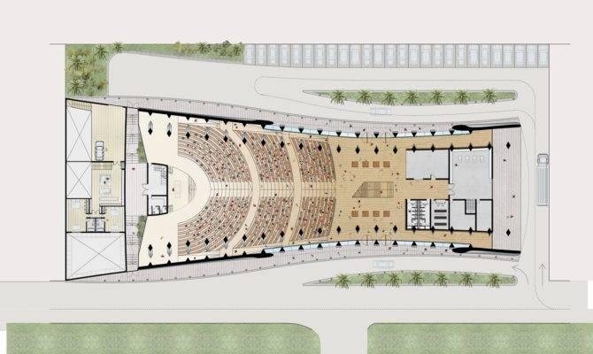 Brand New Church Building Floor Plan Lagos Nigeria Dos Architects