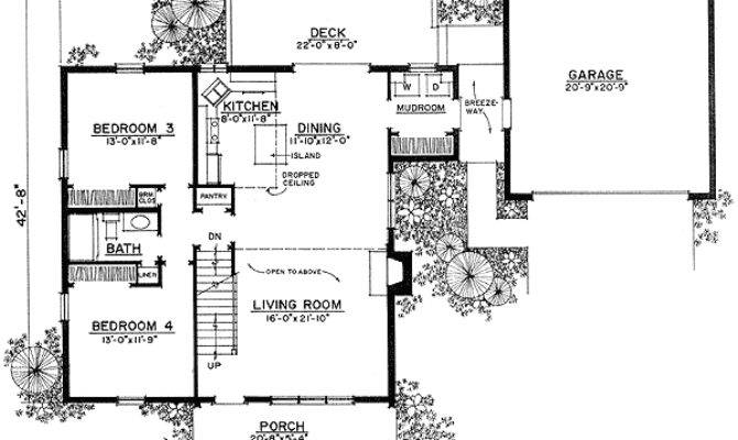 Breezeway Garage House Plans Home Design Style
