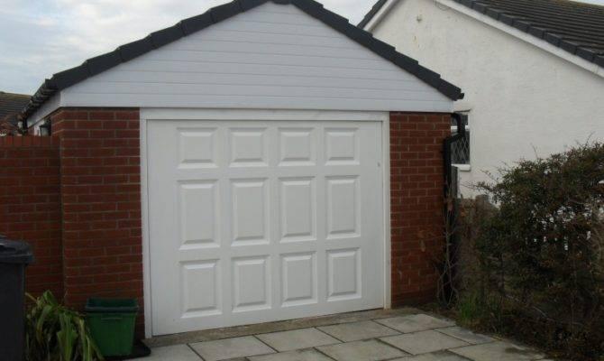 Brick Built Garage Blackpool