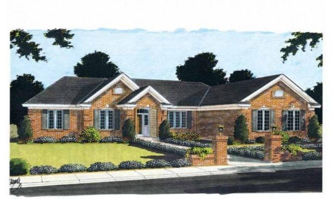 Brick Bungalow Home Plans Bungalows Town