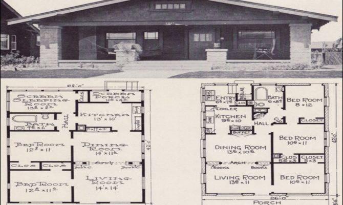 Brick Bungalow House Plans