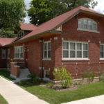 Brick Bungalow Style House Craftsman Home