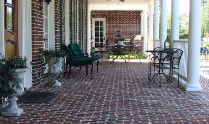 Brick Front Porch Ideas Remodel Decor