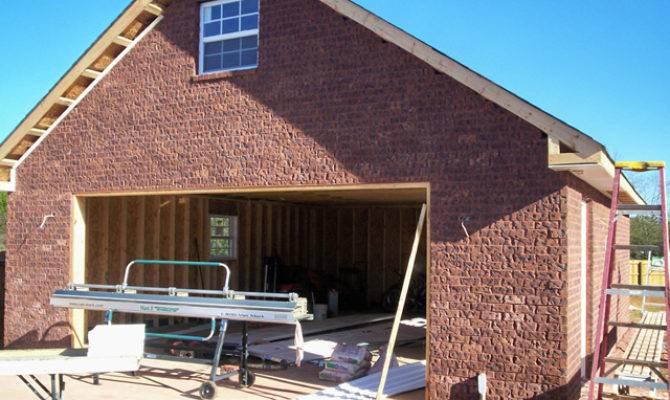 Brick Garage Structure Remodeling Structureremodeling