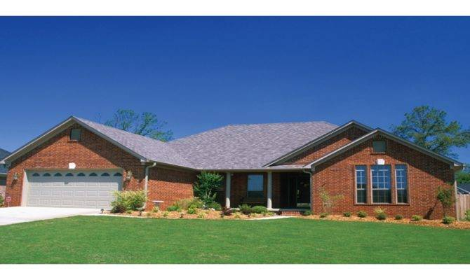 Brick Home Ranch Style House Plans Homes