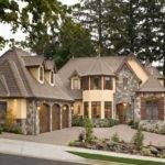 Brick House Facades European Stone Cottage Plans