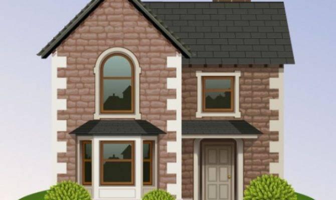Brick House Vector Illustrations Pixempire