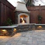 Brick Outdoor Fireplace Diy Designs