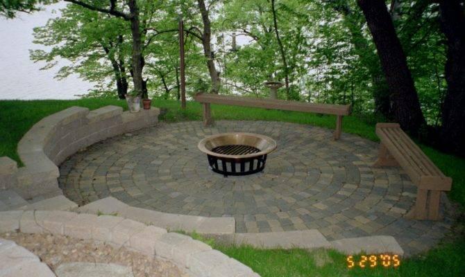 Brick Patio Designs Casual Cottage