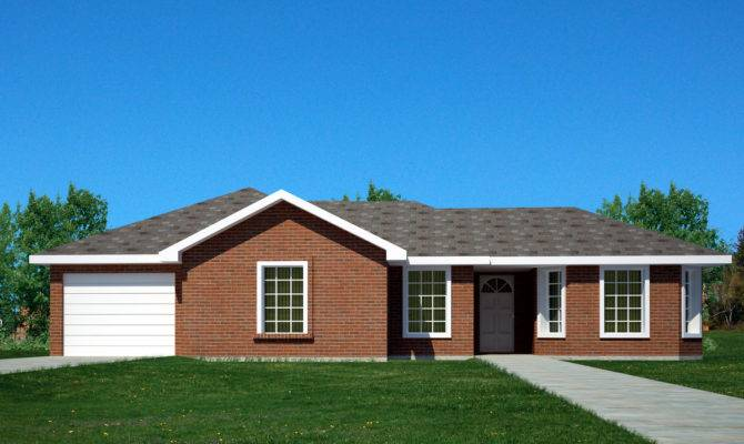 Brick Ranch Home Architectural Designs House