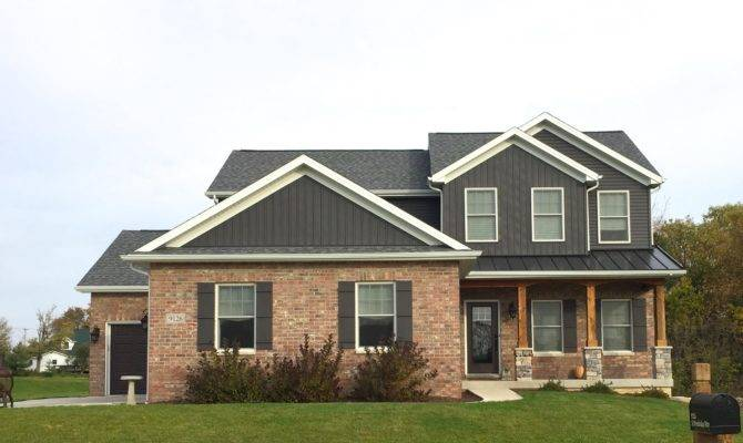Brick Ranch Homes Metal Roofs