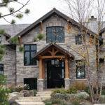 Brick Stone Veneer Siding House