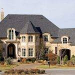 Brick Style Homes Stucco Exterior Home