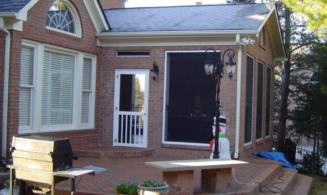 Brick Vector Porch Designs