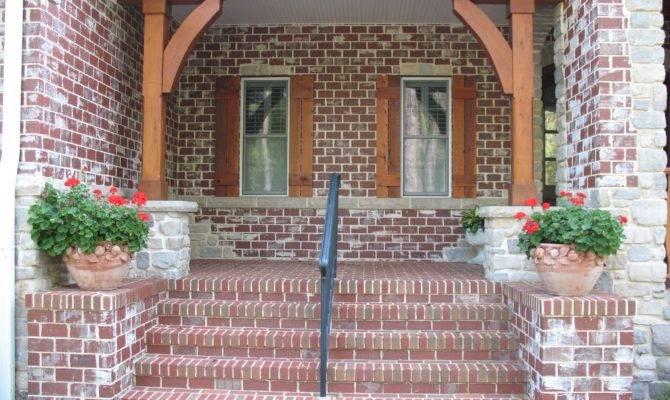 Brick Vector Porches